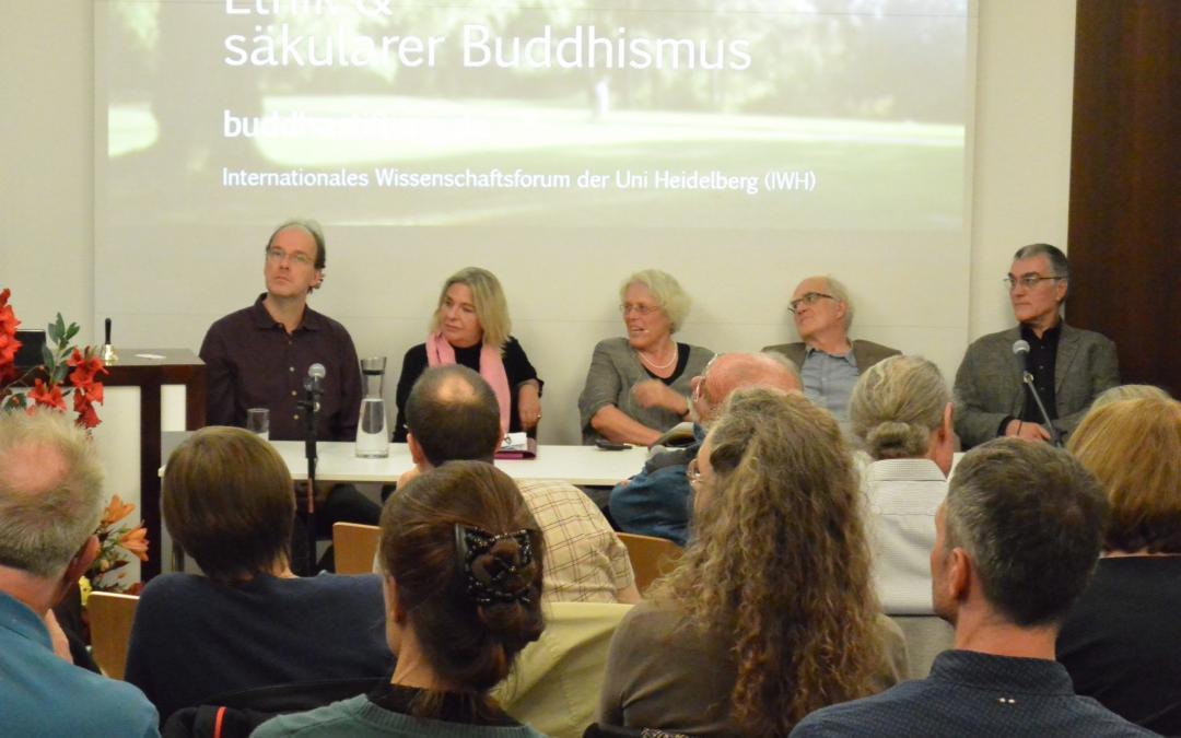 Ethik und säkularer Buddhismus – Symposium 2018