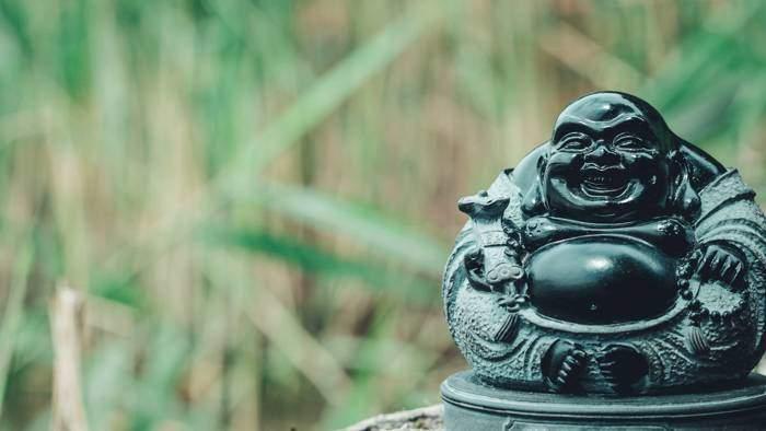 "Der dicke, lachende ""Glücks-Buddha"""