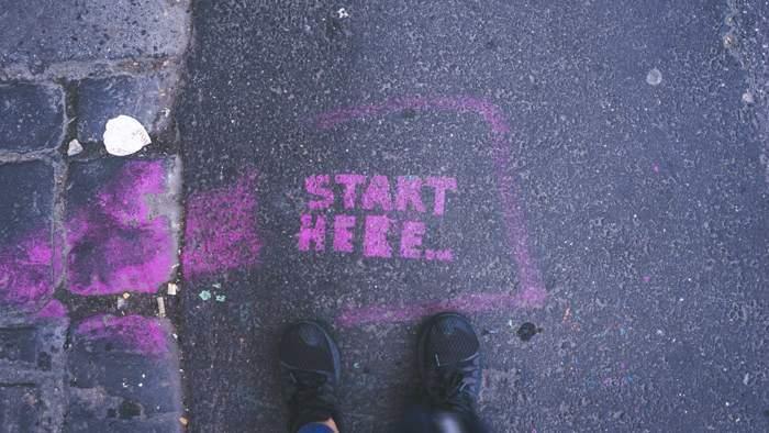 start anfang erste schritte