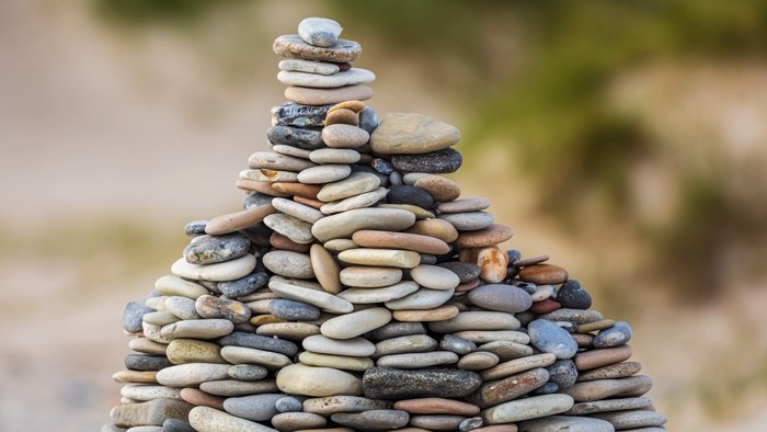 steine aufgestapelt