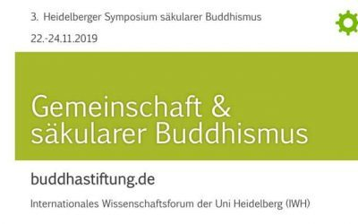 "Bericht in ""Buddhismus aktuell"" zum 3. Study-Retreat Säkularer Buddhismus 2019"