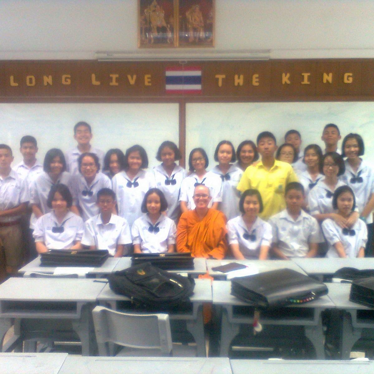 unterricht abschluss schule thailand buddhirefuge
