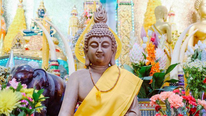 buddha meditation tempel